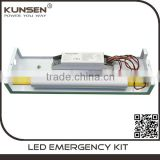 recessed emergency light fittings conversion kit