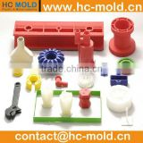 customized precision plastic cnc machining parts,cnc machining, machining for rapid prototype parts