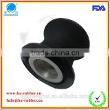 high quality round rubber wheel