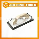 Foam grinding board plastering trowel grout trowel with rubber handle for cleaning tiles