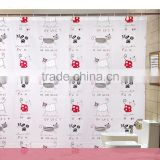 China alibaba factory supply eco-friendly shower curtain
