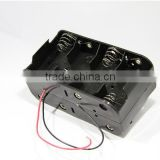 BH281 Battery holder , 8 C Battery Holder with Leads,battery holder,back to back battery holder