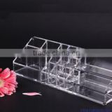 Womens makeup storage drawer clear Acrylic cosmetic display shelf with Experienced Factory Made