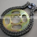 Motorcycle roller chain sprocket/chain 420-104