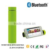 power tube speaker,mini speaker with power bank 4000mah,3 in 1 power bank,Portable sound box and moilbe holder