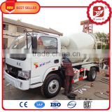 Chinese hot sale High efficiency new machine credit worthy energy saving electric concrete mixer truck price