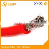 Heating Application and Tinned copper Conductor Material silicone rubber heat resistance insulation wire                                                                         Quality Choice