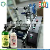 Semi automatic round container labeling machine for plastic bottles                                                                         Quality Choice