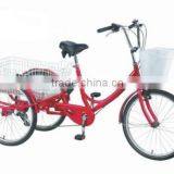 2015 Utility adult bike with 3 wheel/cheap cargo tricycle factory KB-T-Z11