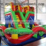 Hot sale design inflatable combo, bouncy castle inflatable bouncer SP-CM016