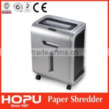 Hopu automatic paper shredder with wheels made in China