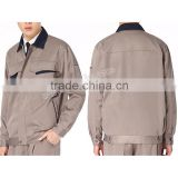 custom wholesale mens safety factory long sleeve work clothing workwear uniforms industrial uniform