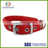OEM factory price custom round dog training collar, dog bark collar, waterproof dog collar