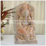 Antique color Ganesh gifts statue ,resin figurine , statue of kali