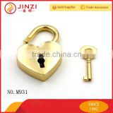 Heart shaped metal lock quality padlock for women bags                                                                         Quality Choice