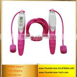 Multifunction Digital Calories Counter speed jump rope with pedometer