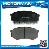 MOTORMAN Welcome OEM OEM all type professional brake pad shim D433-7320 for MAZDA 929