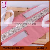 FUNG 800218 Wholesales Wedding Accessories Pearl Wedding Belts And Sashes