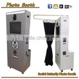 "Factory professinal cheap 19"" LCD touch screen photobooth party wedding kiosk portable photo book printing machine prices"
