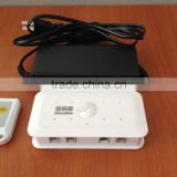 8 ports remote control Multiple Anti-Theft Alarm Security display for phone/ Tablet with remote control produced by sslt