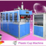 QC-660B fuuly automatic plastic cup forming filling sealing machine                                                                         Quality Choice