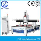 Flush Door CNC Making/Engraving/Milling/Drilling Machine with 3 Spindles/Syntec Controller 4 Axis