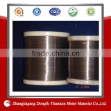 Black Oxide Titanium Fishing Wire with very Good Memorability and High Strength