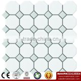 IMARK Octagon Ceramic Mosaic Tile/House Decor Tile/Modern Bathroom Mosaic Tile/Kitchen Wall Tile
