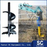 Tractor Earth Auger Drill /Earth Auger SC3000 For 1.5T-3T Excavator SOLAR170 For Hole Digging