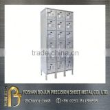 High precision customized stainless steel vertical multi-case mailbox sheet metal fabrication