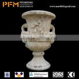 Hot sale small fountain / stone bird bath / garden ornament