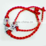DIY braided nylon cord bracelet(ZCB1037)