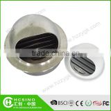 Stainless Steel Ventilation Wall Air Vent Cap Roof Net Vent / Matal Mesh Dome Cap