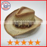 Nice styles decorated band cowboy hat,good quality cowboy hat,cowboy hard hat (SU-SH9741)