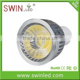 Elation design 560lm gu10 fitting 7W cob led spotlight dimmable with Philip NXP dimmable solutions