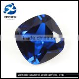Xiang Yi Gems New Arrival Lowest Blue Sapphire Price 11x11mm Blue Spinel Cushion Cut Sapphire Price Per Carat