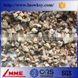 China LMME Factory Directly 0-50mm White Bauxite With High Aluminum For Refractory with low market price
