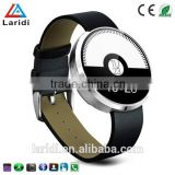2015 New leather DM360 bluetooth smart watch for full hd 1080p porn sex video android and IOS support pedometer
