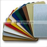 design acp panel sheet with different color cards