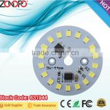 9w 3w 5w 7w 12w 15w plastic wrapped aluminium smd2835 bulb integrated IC constant current no need driver ac module