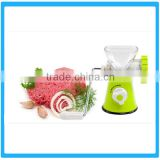 Good Quality Plastic Meat Mincer ,Mini kitchen use meat mincer ,New Home Portable Manual Mince Meat Grinder