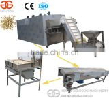 Belt type Chestnut nut roasting machine Peanut roasting machine for sale