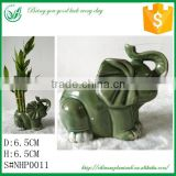 Lucky Bamboo Elephant Flower Pot