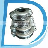 "SS304 SS316L 5"" DN125 133mm-140mm camlock coupling hose pipe fittings for grooved pipe with biggest manufacturer"