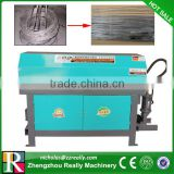 4-14mm steel bar straightening and cutting machine, best selling wire straightening machine