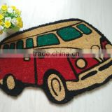 Coconut Fiber Shape Bus Vans Door Mats