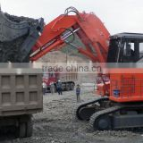 Construction Machinery big huge hydraulic 120Ton, 125 Ton crawler excavator with 503Kw Cumins engine