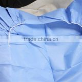 Supply High quality disposable nonwoven surgical gown medical gown isolation gown with ISO Approved