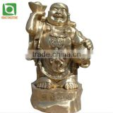 Cast Brass God Of Wealth Statue