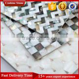 Square Wall Tile Natural Oyster Mother of Pearl Shell Mosaic Tiles